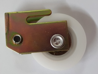 Clip in Carriage with Wheel
